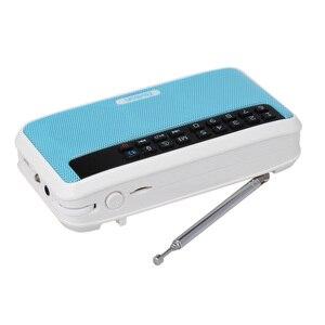 Image 3 - Rolton e500 fm rádio 6 w sem fio bluetooth alto falante portátil rádio digital fm estéreo de alta fidelidade tf music player com display led mic