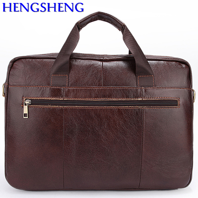 Free Shipping business genuine leather men briefcase with top cow leather man handle bags and genuine leather men messengers bag free shipping dhl brand new cow leather clothing man s 100% genuine leather jackets classics men s slim japan style jacket