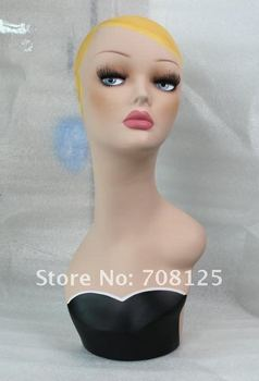 New Hand painted Manikin head for wig/hat/jeweley/collection
