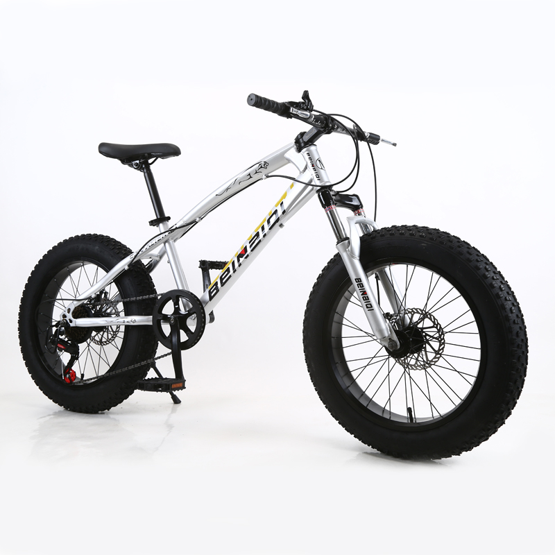 26inch Mountain Bike 4.0 Extra Large Tire Variable Speed Snow Bicycle Shock-absorbing Beach Bike Big Tire 7-speed Mountain Bike
