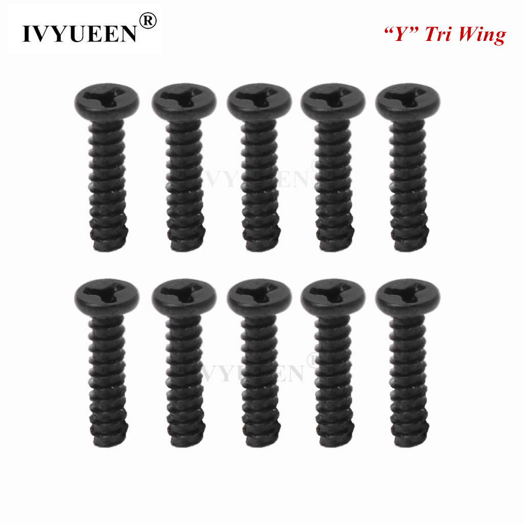 IVYUEEN 10 Pcs Y Type Tri-Wing Screws For Nintend Switch NS Joy-Con Shell Case Repair Part Set For Joy Con Console