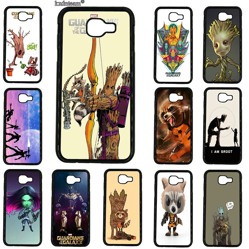 Guardians of the for Galaxy Marvel Rocket Fun Dynamic Case for Samsung Galaxy A3 A5 A7 A8 A9 2016 2017 2018 Note 8 5 4 3 2 Shell