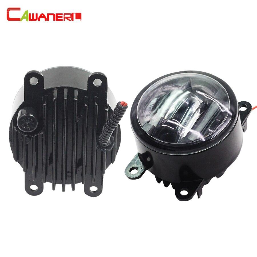 Cawanerl For Dacia Sandero Logan Solenza Car Accessories Left + Right LED Fog Light DRL Daytime Running Lamp 2 Pieces dacia sandero б у в европе