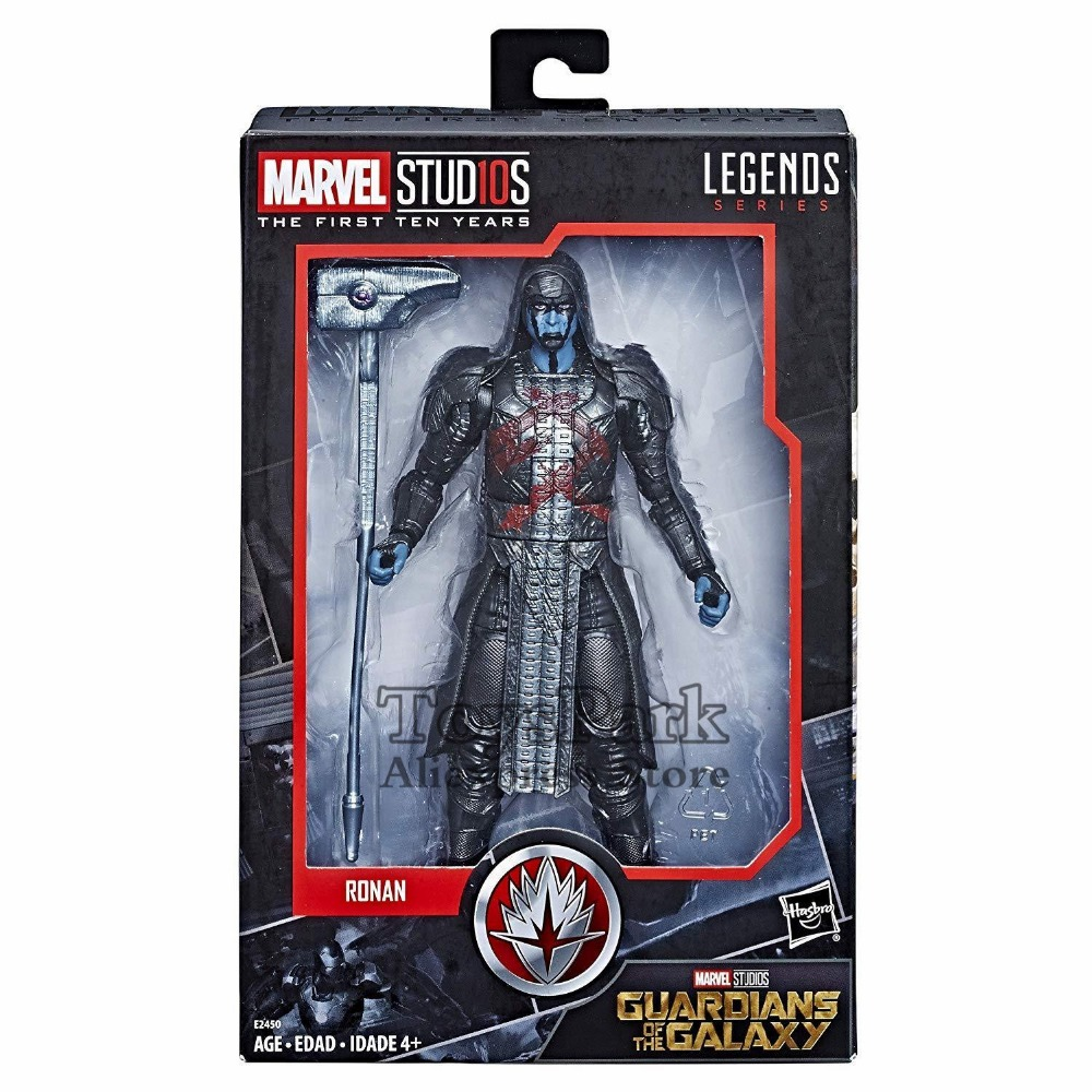 цена на 2018 Marvel Legends 10th Anniversa 6 Ronan the Accuser Action Figure Guardians Of The Galaxy Marvel Studios The First Ten Years