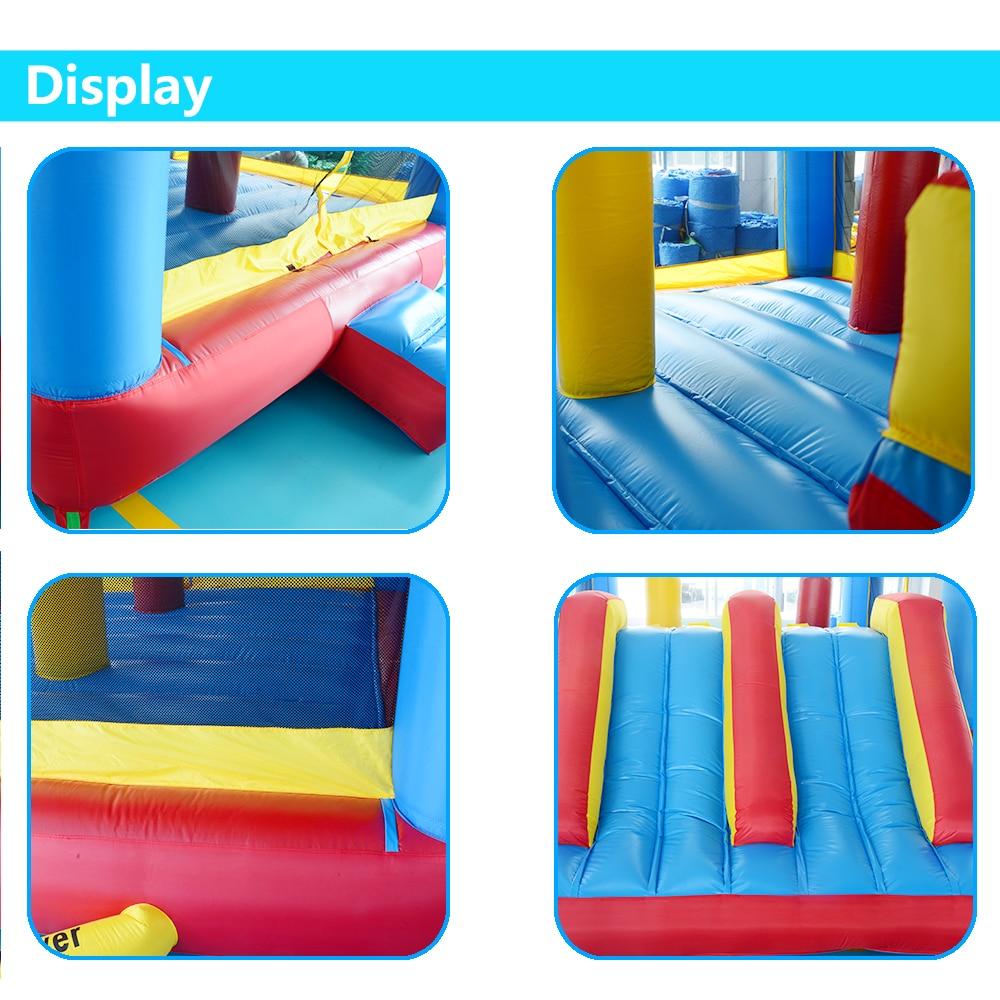 YARD Big Inflatable Bounce House Doppelseiten 5 x 4 x 2,7 m - Outdoor-Spaß und Sport - Foto 6