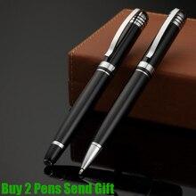 Free Shipping Classic Design Starwalker Metal Brass Copper Ballpoint Pen Business Men Luxury Gift Buy 2 Pens Send
