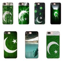 TPU Capa Coque Retail Printed Pakistan Flag For Galaxy A3 A5 A7 A8 A9 A9S On5 On7 Plus Pro Star 2015 2016 2017 2018