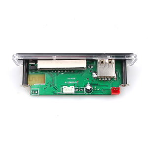 Image 3 - Kebidu 5V 12V DC SD FM 라디오 오디오 MP3 플레이어 AUX 3.5MM MP3 모듈 디코더 보드 자동차 원격 음악 스피커에 대 한 USB 전원 공급 장치