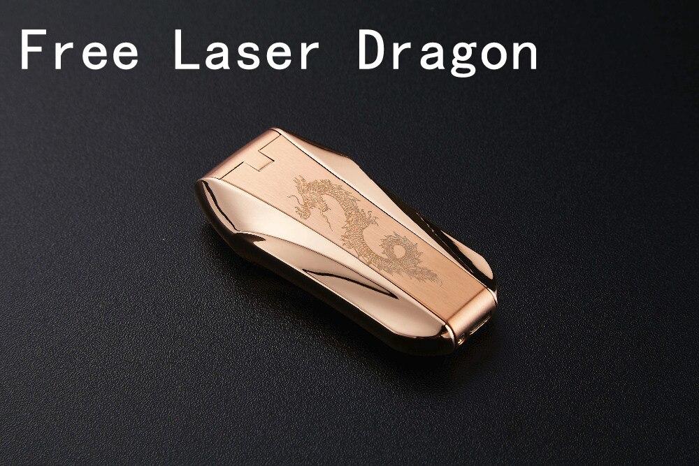 Купить с кэшбэком USB Lighter Double Arc Windproof Flameless Electronic Lighter Cigarette Lighter Plasma Lighter