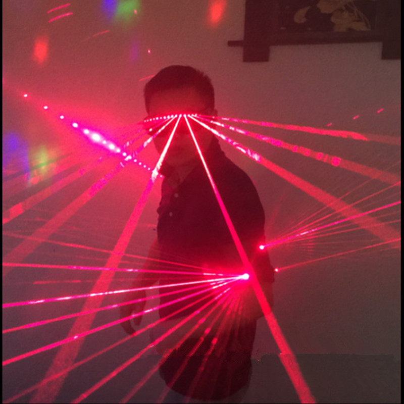 Hot výprodej červený laser muž světelný laser taneční kostým - Pro svátky a večírky