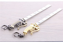 Attack on Titan Scouting Legion survey corps weapon Keychain (2 colors)
