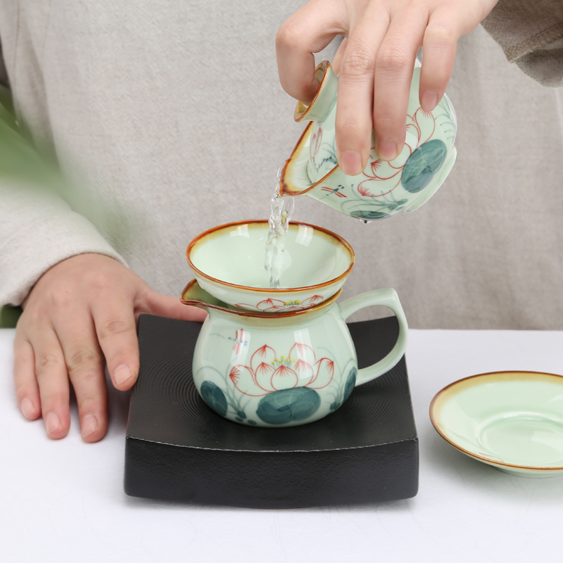 Wourmth True Pot Tea Beauty Ceramics Arts tea set China Teapot Porcelain yixing Clay Antique Teapot in Teaware Sets from Home Garden
