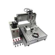 Ly Cnc 3040 4 Assi Usb Z VFD 1500W Mandrino di Legno Fresatura Macchina 1.5KW Metallo Engraver Del Router con Finecorsa