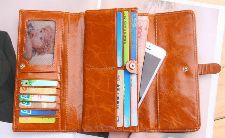 women wallets real leather