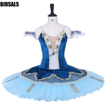 37c11811b Adult Nutcracker Professional Ballet Tutu skirt Blue bird Pancake Tutus  Classical Ballet Tutu For Girls BT9199