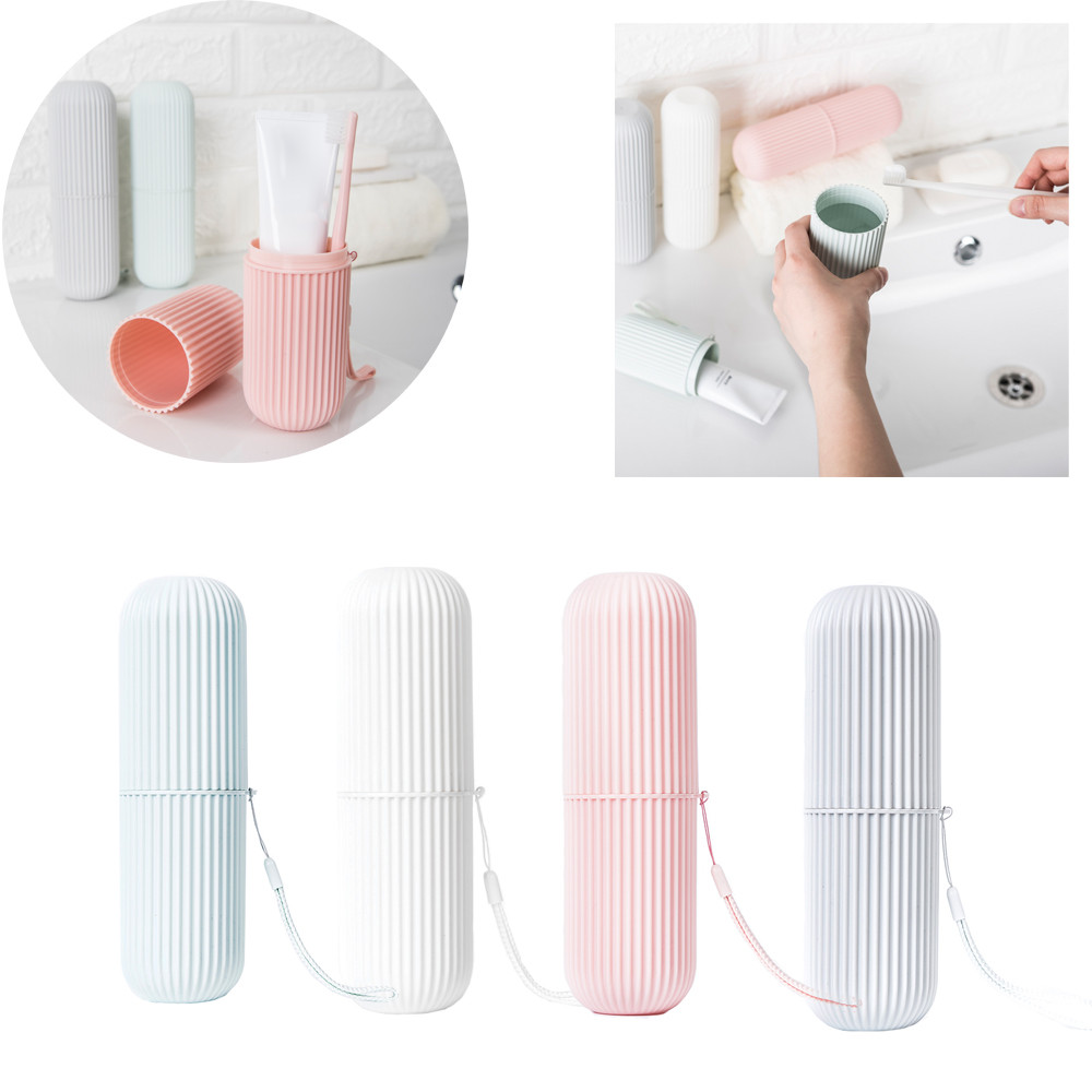 Travel Toothbrush /& Toothpaste Case Camping Protect Portable Holder Box
