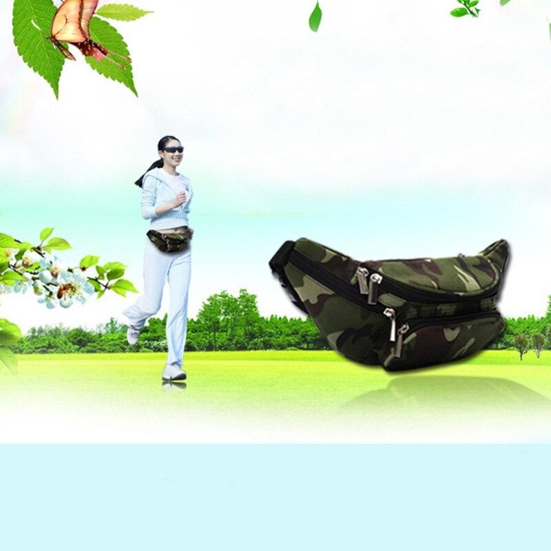 THINKTHENDO талии сумка износостойкие карман Открытый рогатки для активного отдыха и развлечений Пеший Туризм полиэстер Оксфорд карман