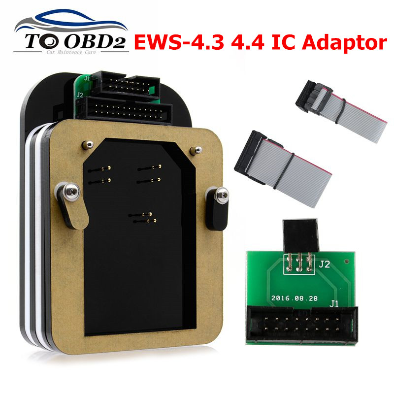 EWS-4.3 &4.4 IC Adaptor For BMW (No Need Bonding Wire) For X-PROG/AK90/R270/ R280 Plus Programmer EWS 4 Adaptor On Board Reading