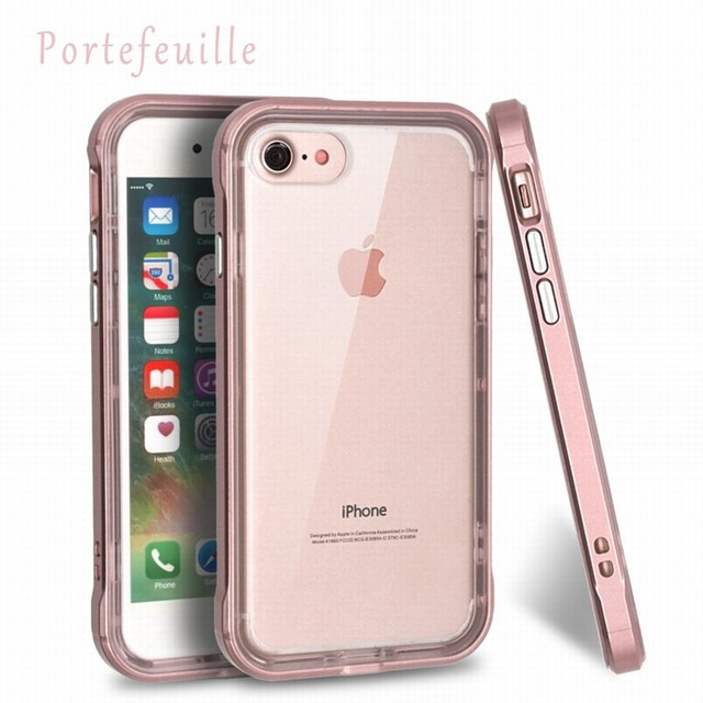 reputable site 55463 31a0e US $6.08 19% OFF|Aliexpress.com : Buy For iPhone 7 Case Full Protective  Portefeuille TPU Acrylic Transparent Back Cover iphone7 cases for iPhone 6  6S ...