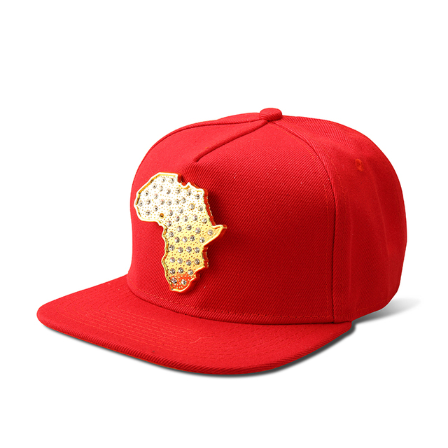 9937c0a1f Check Price NYUK Trendy Snapback Hats Crocodile Map Of Africa Caps ...