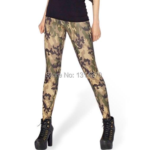 New Fashion Women Leggings 3D Digital Printing Camouflage Pants Workout Wear Legging For Women Plus Size 4XL
