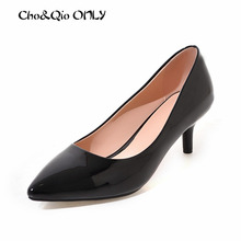 Classical Style Top Quality Patent Red Bottom High Heels Shoes Women Pumps Sexy Pointed Toe Chaussure Escarpins Semelle Rouge