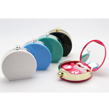 Portable Cute Perfume Bottles Shape Mini Contact Lenses Box Eyewear Container
