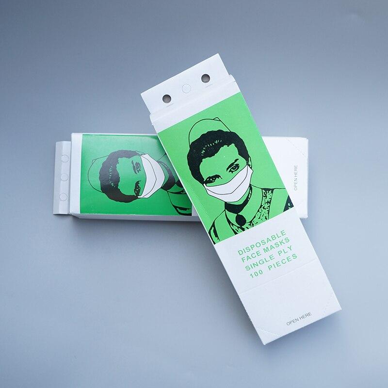 100pcs / Set Mask Respirator Nail Medical dental disposable Ear_loop ...