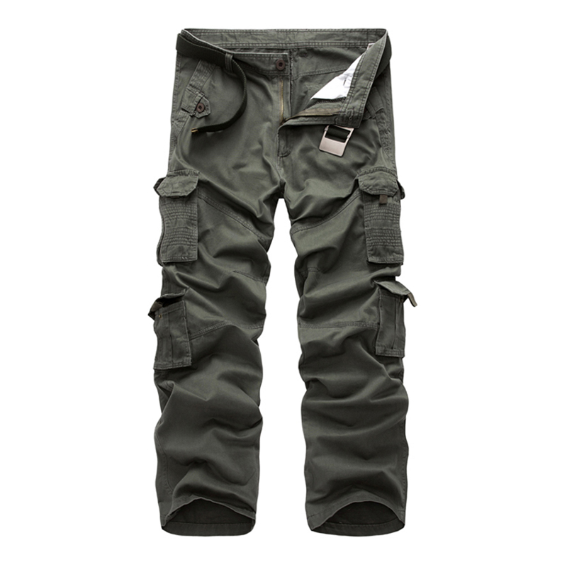 2018 Males Cargo Pants Males's City Tactical Clothes Fight Trousers Multi Pockets Distinctive Informal Pants Ripstop Cloth measurement 28-40 cargo pants zipper, cargo pants, cargo pants vogue,Low cost cargo...