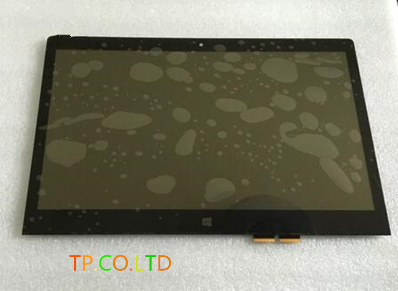 NEW 14 LCD Screen+Touch Digitizer Assembly for Lenovo Ideapad Yoga 3 14 N140HCE-EBA replacement lcd digitizer capacitive touch screen for lg vs980 f320 d801 d803 black