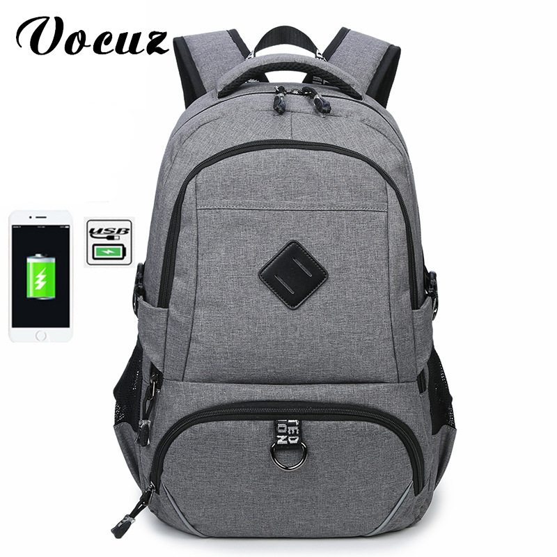 2017 Anti-thief USB charging 18inch laptop backpack for women Men Backpack school backpack Bag for Male Mochila b8 5 0 1w 18lm led green light car dashboard lamp instrument light dc 12v 2 pcs