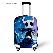 ELVISWORDS Suitcase Protective Cover Cartoon Hollow Night Pattern Elastic Dust-proof Kawaii Travel Luggage Accessories