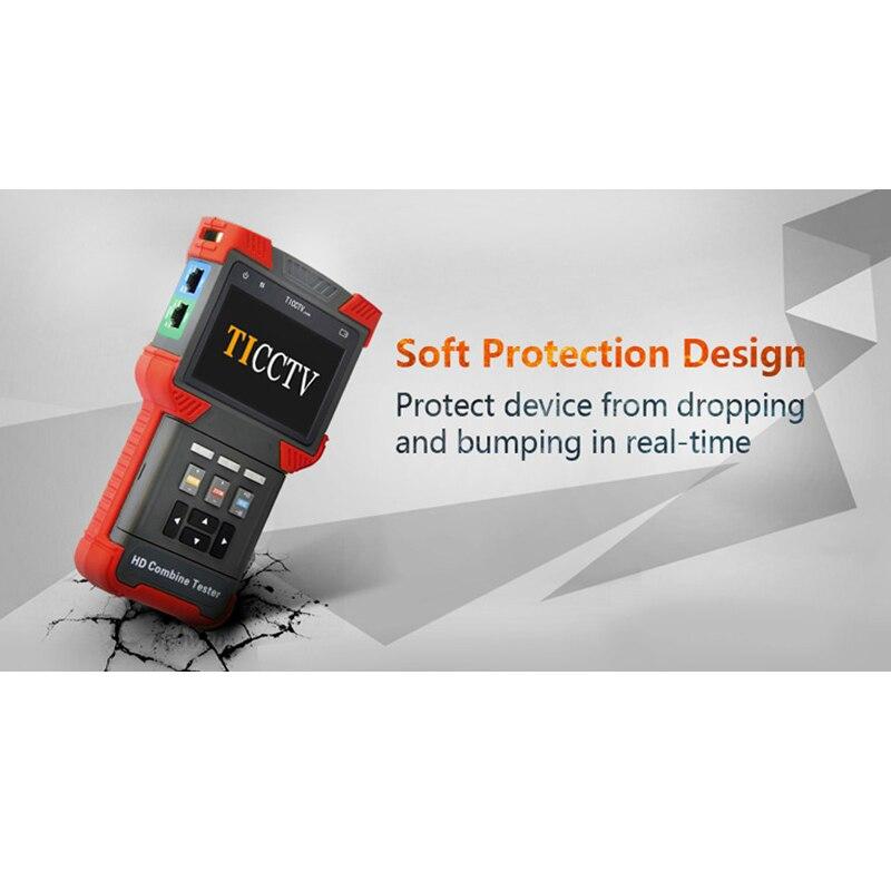Aus Dem Ausland Importiert T-t62-ahd Freies Verschiffen Handheld Sicherheit Tester Cctv Tester Ahd + Ipc + Tdr + Poe + Analog Kamera Tester 4,0 -zoll Senility VerzöGern