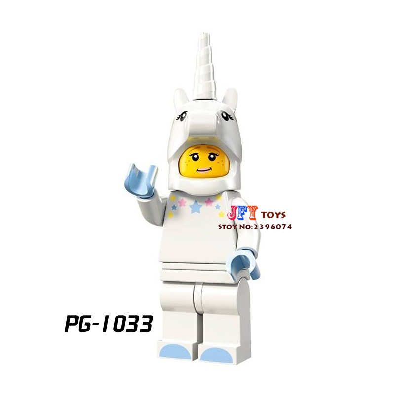 Single Star wars super heroes Series Unicorn Girl Inhumans collectible building blocks models bricks hobby toys for children kit uncanny inhumans volume 1