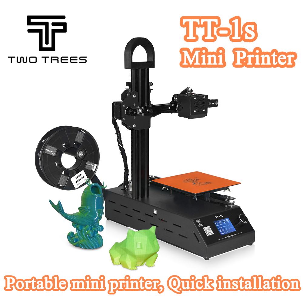 2018 New DIY TT-1s Mini 3D printer 220V/110V Universal Made from high quality suppliers with 0.3kg consumables in random colors 2018 new diy tt 1s mini 3d printer 220v 110v universal made from cn fully assembled supplied with 0 3kg filament in random color