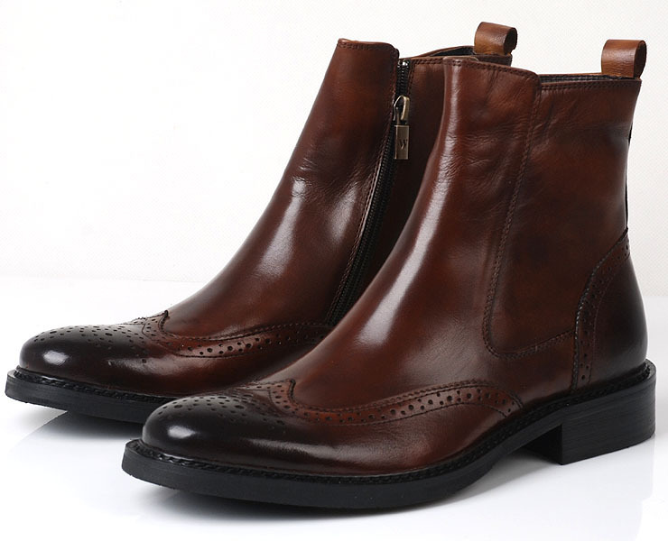england patented short boots new fashion trend mens boots