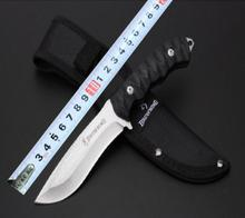 Latest Hunting Fixed Knife 5Cr13Mov  Blade G10  Handle Camping Tactical Knife Utility Survival Tool With Nylon Sheath