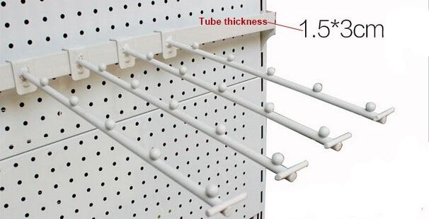 Metal Coating Process Shelf Hook Store Shop Hanger Garment Display Hook Coat Holder Display Rack Shelf Mount Hook Storage Hanger