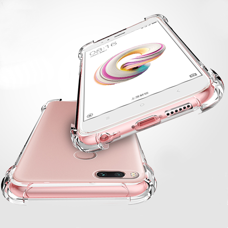 Soft-Case Note Clear Shockproof Xiaomi Silicone 8lite Anti-Knock For 8-8se/8lite/5x/..