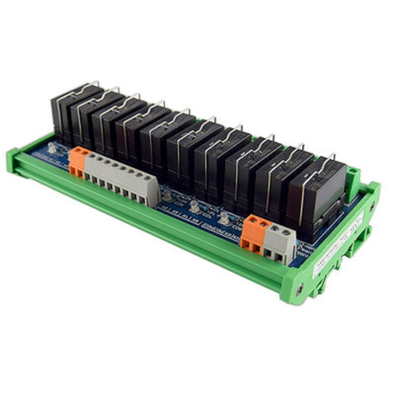 Original Omron Relay Module, 10-way 1NO+1NC 24v Electromagnetic Relay