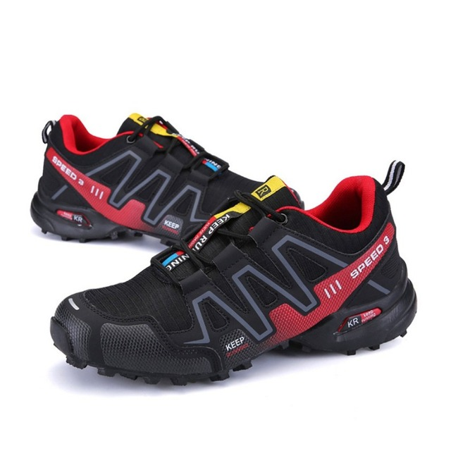 ecf2393b8 Men s Hiking Shoes Speed 3 Athletic Outdoor Sports Mountaineering Sneakers  Fashion Casual Luminescent Hiking Shoes-in Hiking Shoes from Sports ...