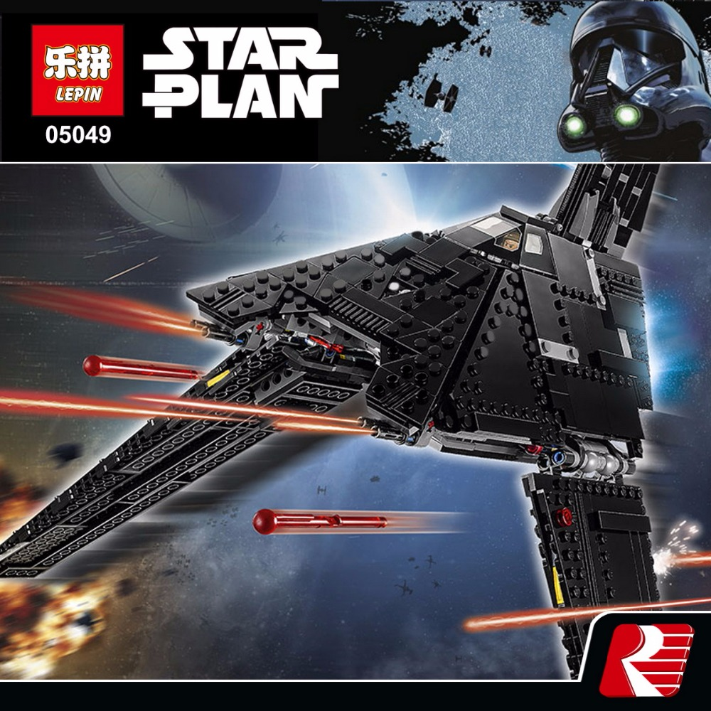 Lepin 05049 Star War Series The Imperial Shuttle Building Blocks Bricks Toys Compatible with 75156 lepin 22001 pirates series the imperial war ship model building kits blocks bricks toys gifts for kids 1717pcs compatible 10210