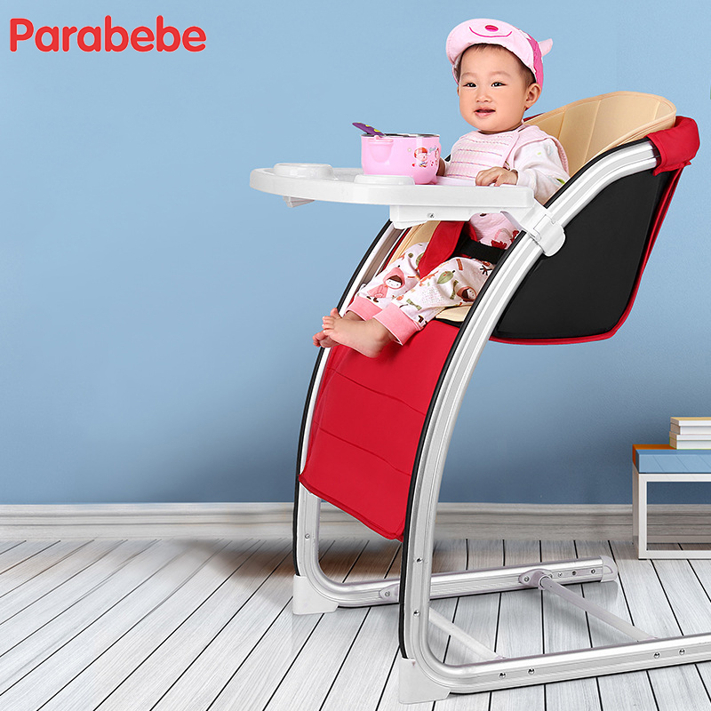 aluminium alloy infant baby seat sofa 30 years use highchair 4 adjustments multifunctional kids chair kitchen feeding chair