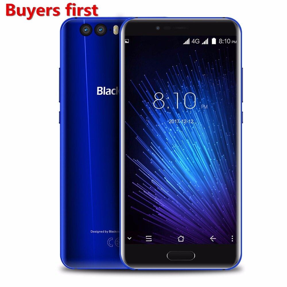 Blackview P6000 Face ID Smartphone Helio P25 6180mAh batterie RAM 6GB ROM 64GB 5.5
