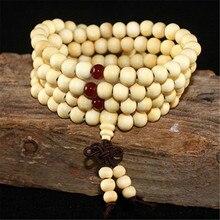 108 Wooden Beaded Bracelet Men Wenge Prayer Beads Tibetan Buddhist Mala Rosary Bracelets For Women Wood Pulsera Hombre Jewelry bro904 tibetan 108 beads kingkong bodhi mala 10 11mm fine prayer beads rosary low moq