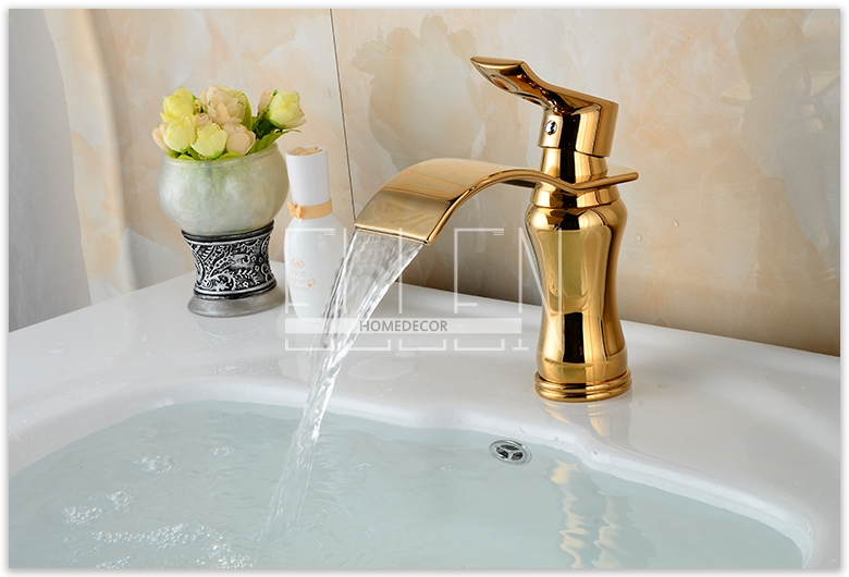 Beau Luxury New Style Bathroom Basin Sink Faucet Soild Brass Oil Rubbed Bronze  Waterfall Tap Water Mixer Torneira Banheiro In Basin Faucets From Home  Improvement ...