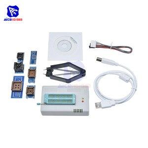 Image 5 - TL866II Plus Programmeur Usb Eprom Flash Bios Programmeerbare Logische Schakelingen 6 Adapters Socket Extractor 6 Pin Draad Voor 15000 Ic