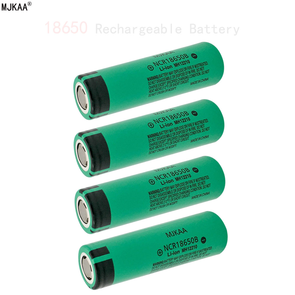 Cncool 100% New Real Capacity <font><b>NCR18650B</b></font> 3.7 v 1500 mah <font><b>18650</b></font> Li-ion Rechargeable Battery For <font><b>Panasonic</b></font> Flashlight Batteries image