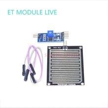 (10pcs)Rain Sensor Water Raindrops Detection Module Automatic watering Rain Weather Module Humidity For Arduino Raspberry Pi