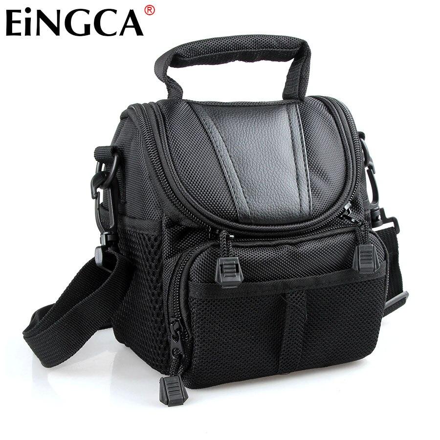 Camera Bag Custodia per Canon G15 SX500 SX50 SX40 SX60 G16 G1X Rebel T2i T4i T3i 650D 600D 550D 500D 1100D (18-55) accessori